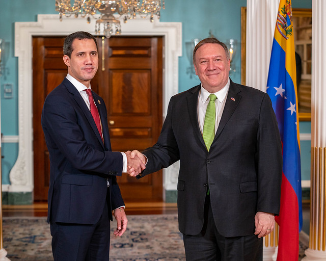 Secretary Pompeo Meets with Interim President of Venezuela Guaidó