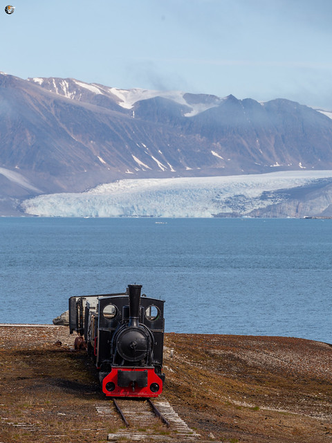 The old railway in Ny-Ålesund