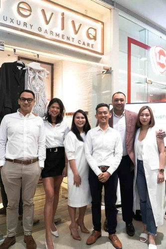 Revica Luxury Garment Care Execs with Suit it up Manila and Bride and Breakfast