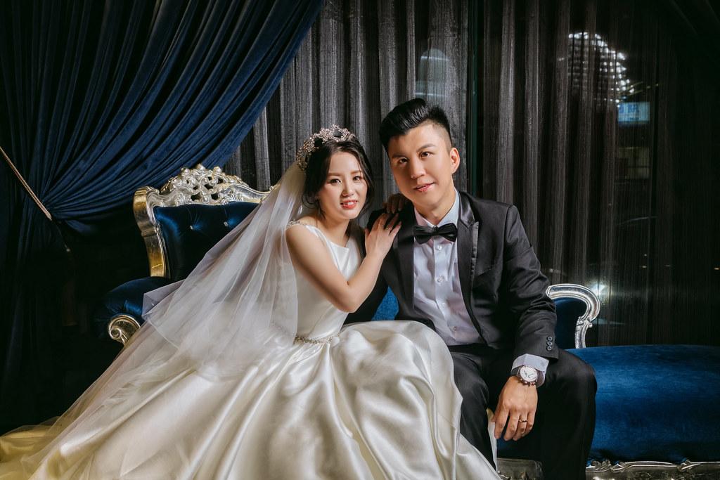 台中婚攝/台中非常棧婚禮紀錄-博凱&思宜