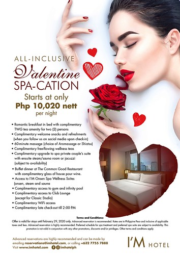 I_M Hotel Valentine Spacation 2020