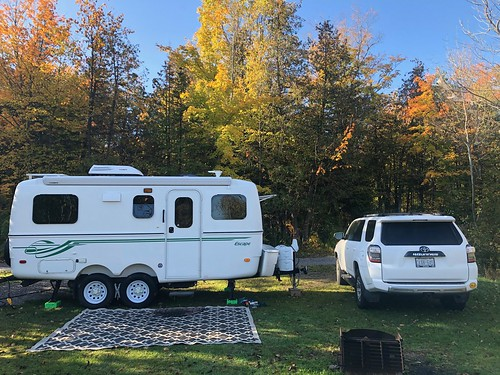 Balsam Lake - campsite