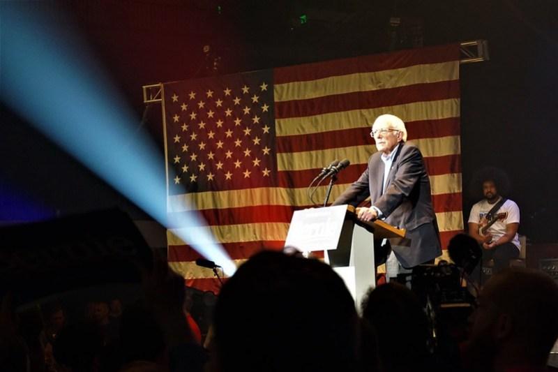 Bernie Sanders Event in Cedar Rapids, Iowa, Feb. 1, 2020 - 2020 Iowa Caucus