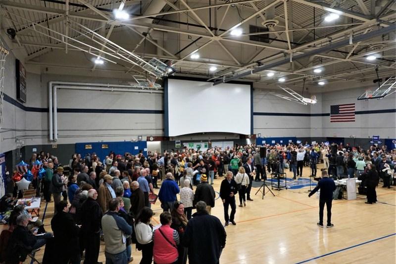 Witnessing a Caucus in Des Moines - 2020 Iowa Caucus