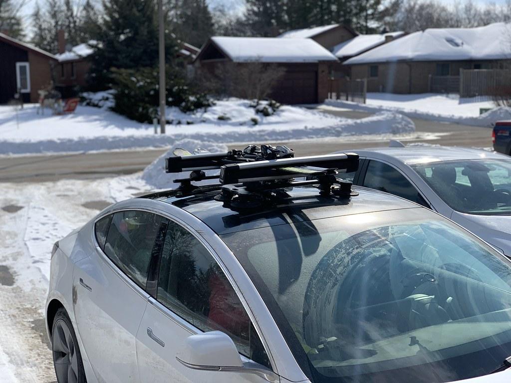 roof rack for tesla model 3