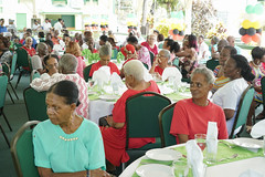 Senior Citizens at the Jubliee Luncheon