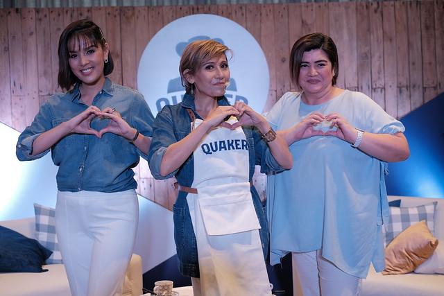 Neri Miranda - Actress and Vlogger, Nadine Tengco - Health Coach, and Nadia Montenegro - Actress, Cook, and Vlogger
