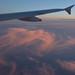 Evening light at 30,000 feet