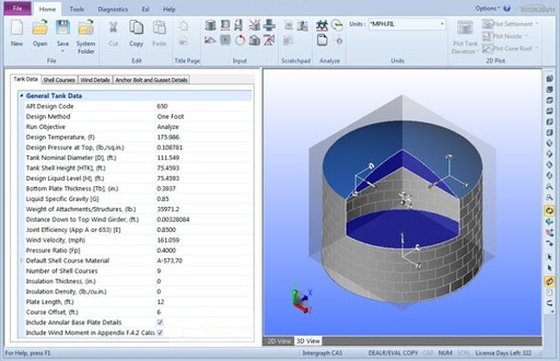 Working with Hexagon PPM COADE TANK 2017 SP1 v9.0 full