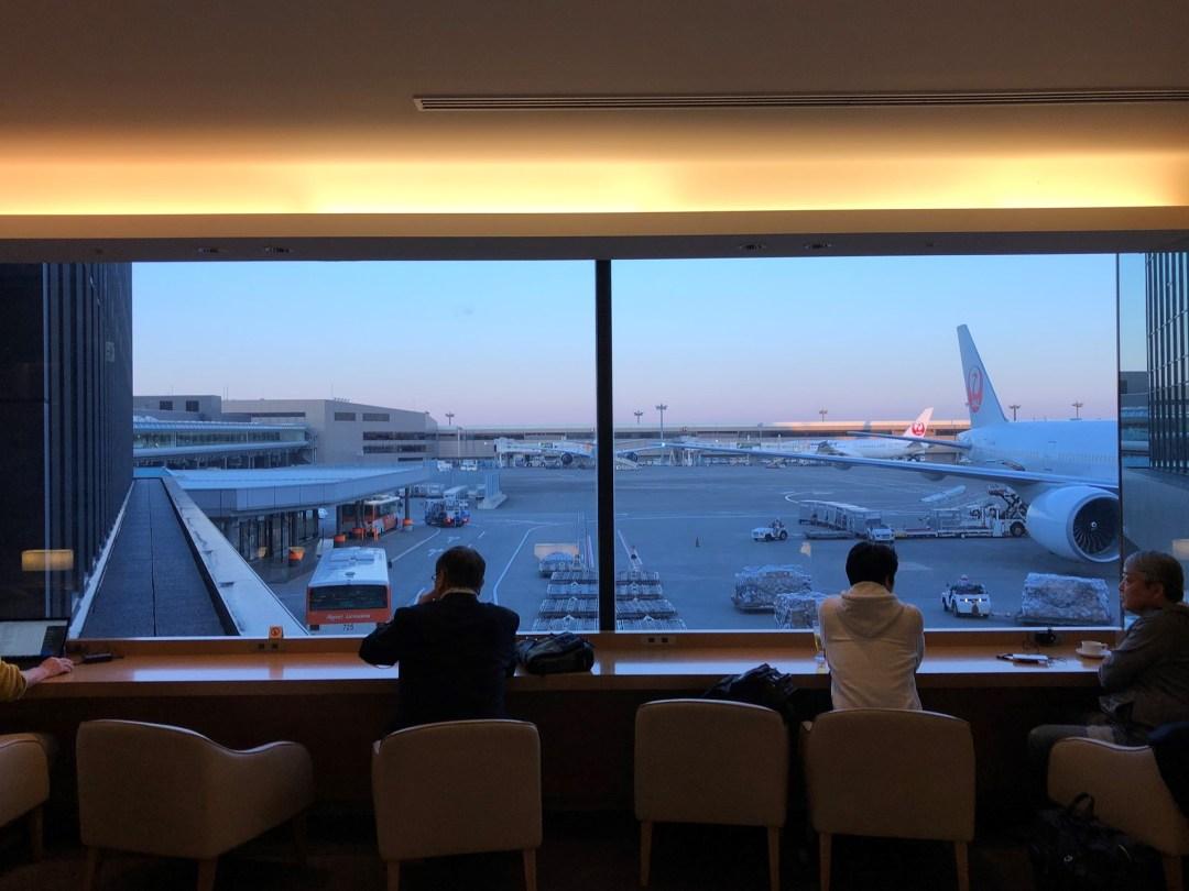 Japan Airlines Sakura Lounge review – Terminal 2 Narita International Airport