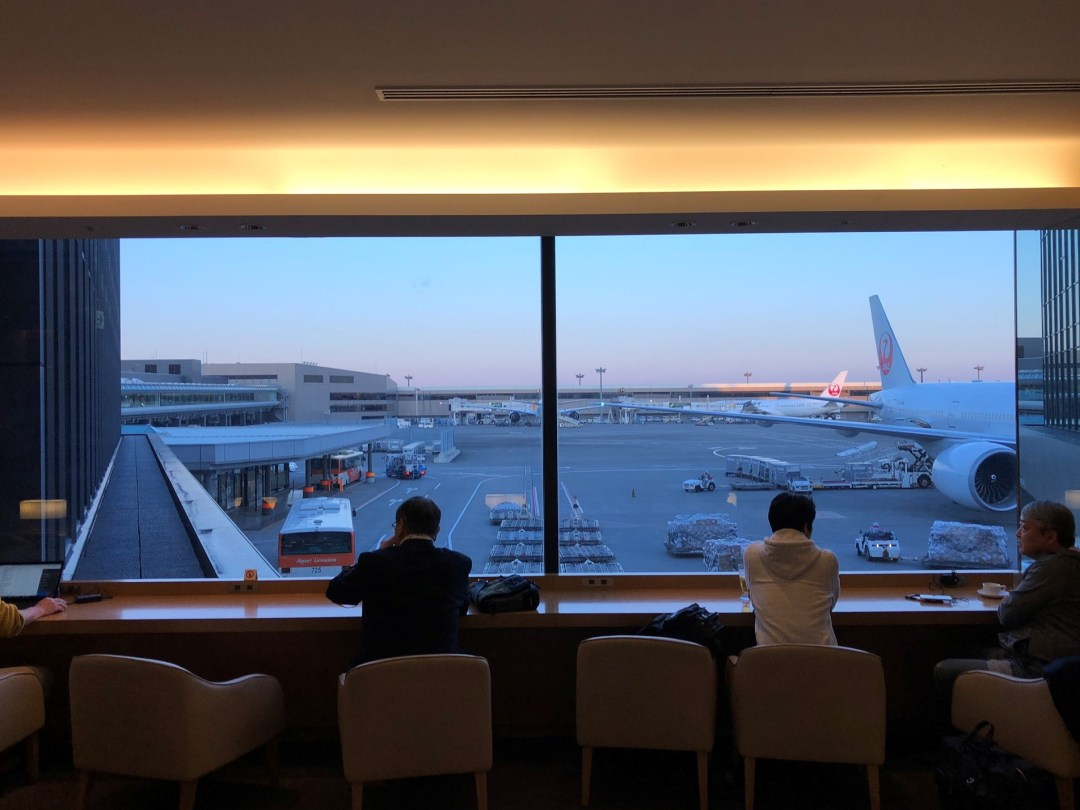 Japan Airlines Sakura Lounge review – Terminal 2 Narita International Airport