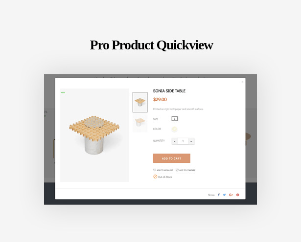 Pro Product Quickview