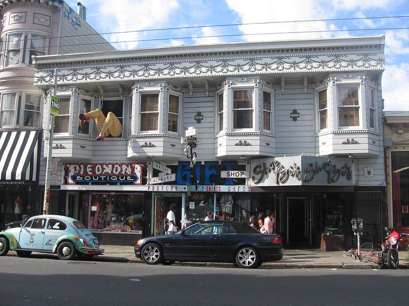 psychedelic shops in san francisco haight ashbury