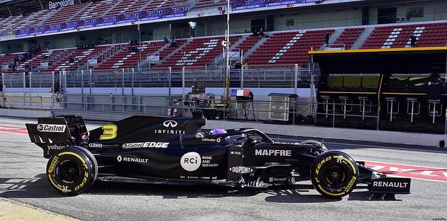 Renault R.S.20 / Daniel Ricciardo / AUS / Renault F1 Team