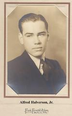 Alfred Halverson, Jr - ca. 1933