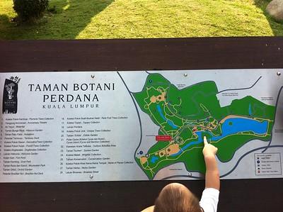 Lake Gardens Map