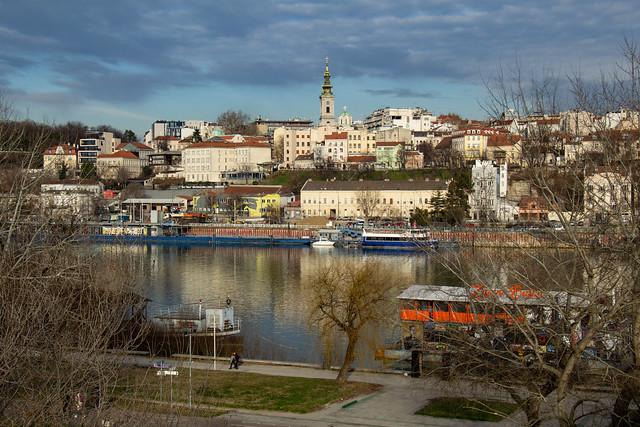 Belgrado 243, panorama dal Brankov Most