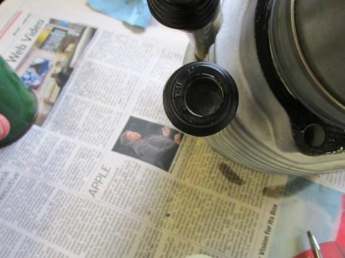 Push Rod Tube Seals Installed