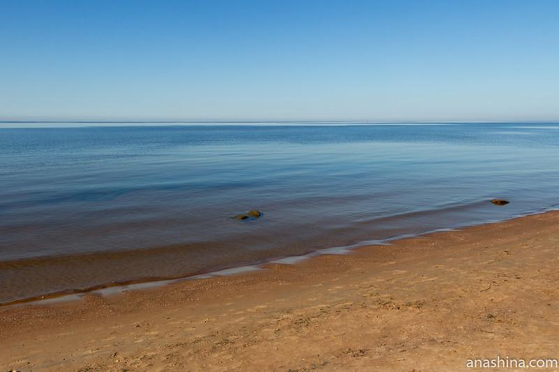 Штиль, Финский залив