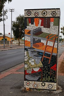Langa roadside bunk bed mosaic