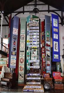 District 6 museum exhibit