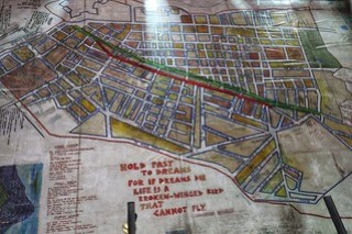 District 6 museum floor map