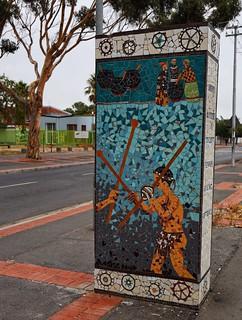 Langa street mosaic
