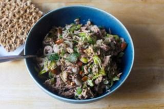 dill and pepperoncini tuna salad