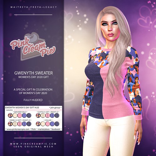 Gift from Pink Cream Pie :: Women's Day 2020 ♥