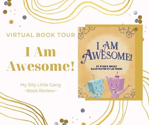 I Am Awesome! Virtual Book Tour @ryankmaule #GodPoweredConfidence #ChildrensBook #KidLit