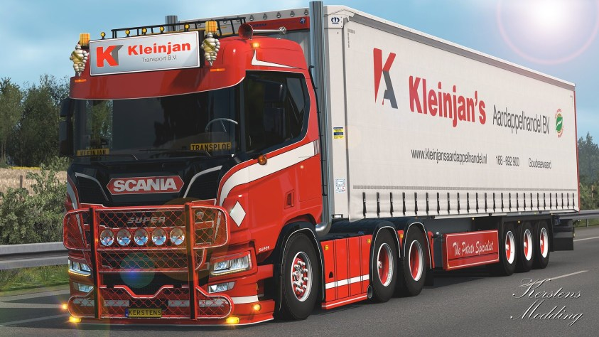 Kleinjan new Scania!