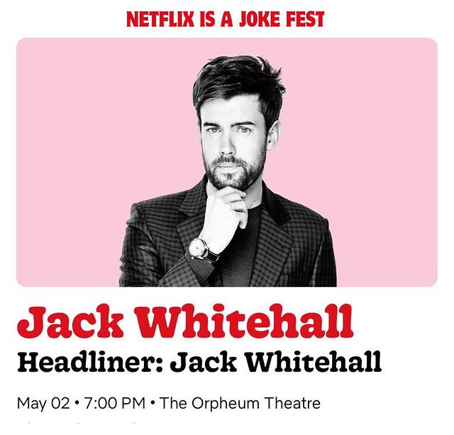 Jack Whitehall - The Orpheum Theatre