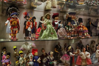 Private doll collection - CP Nel museum