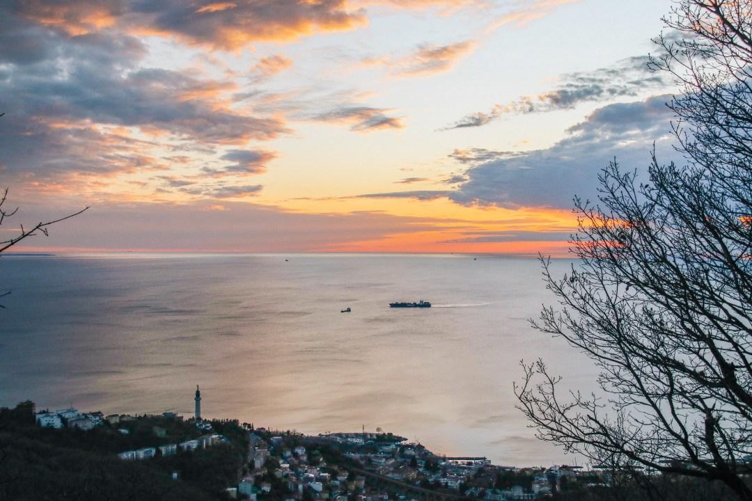 Panorama di Trieste da Opicina