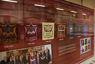School crests through the years - CP Nel museum