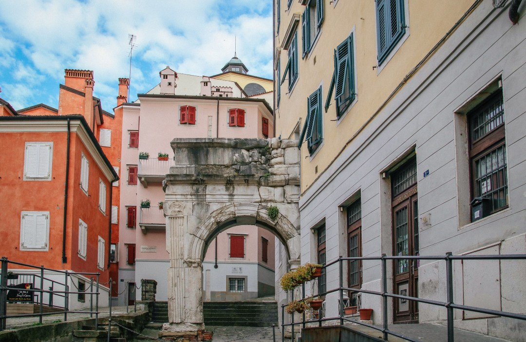 Arco di Riccardo, Trieste