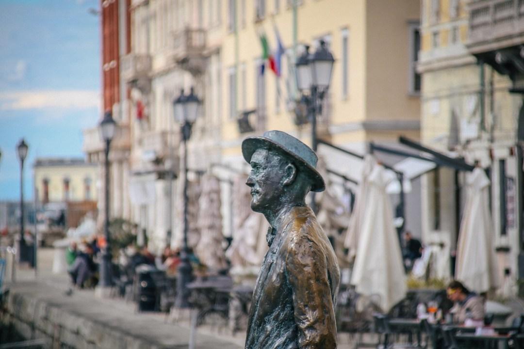 Statua di James Joyce, Trieste