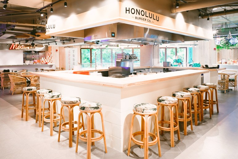 Royal Hawaiian Center's Waikiki Food Hall