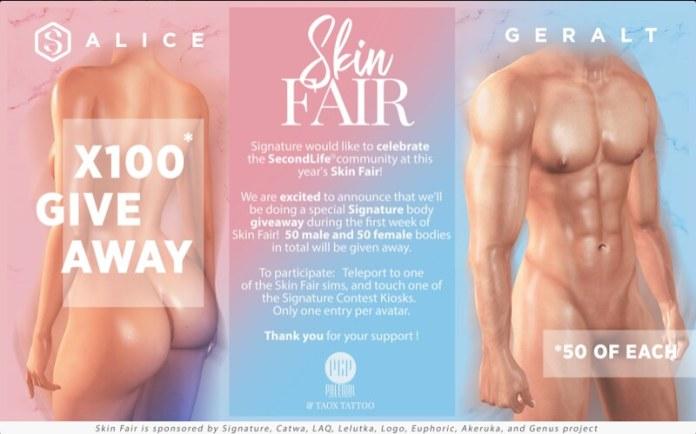 Skin Fair 2020 - Giveaway