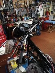 Manubrio Moto Guzzi V50