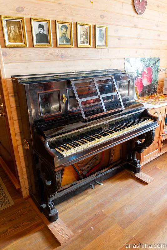 """пианино """"Paris"""", музей-усадьба """"Семья роялей"""" Владимира Виноградова"""