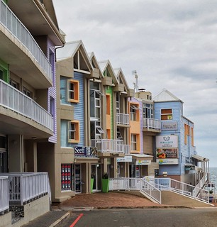 Coloured houses, Mossel Bay