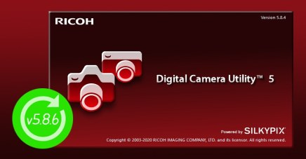 Digital Camera Utility 5 update v5.8.6