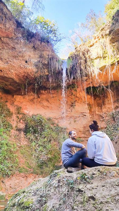 Saltos de Agua de Cabrera d'Anoia - Salt de la Mala Dona