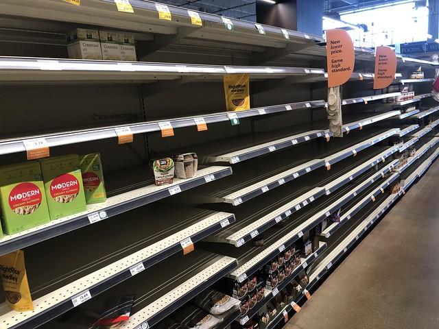 Whole Foods Shelves - 3-16-20