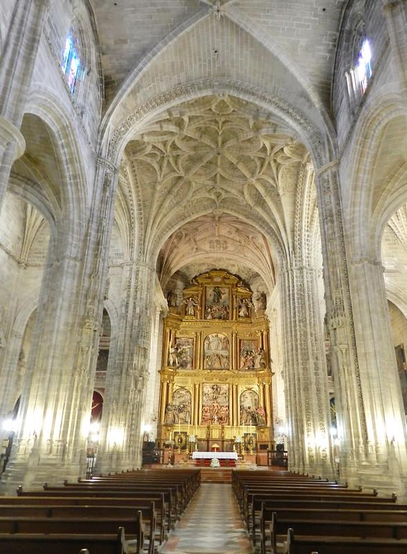 altar Mayor interior Iglesia de San Miguel Jerez de la Frontera Cadiz 01