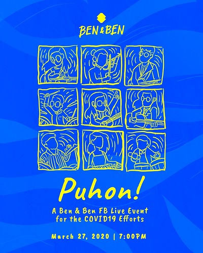 Puhon: A Ben&Ben FB Live Event for the COVID-19 Efforts