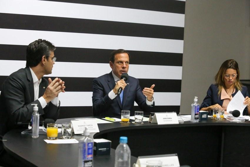 Videoconferência com os Governadores