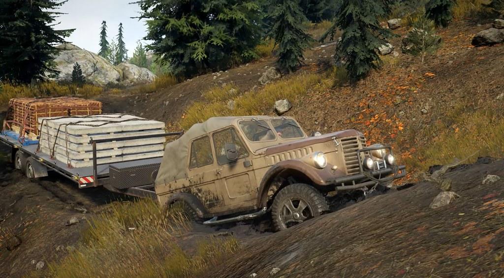 SnowRunner - Φορτηγά