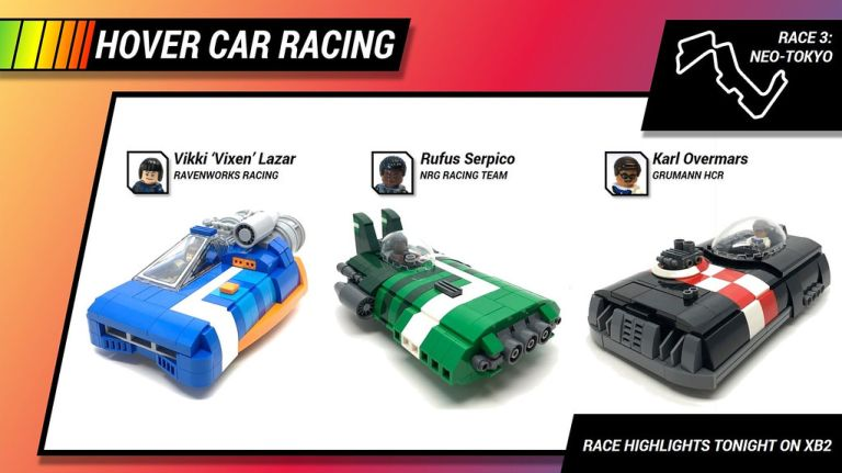 Hover Car Racing